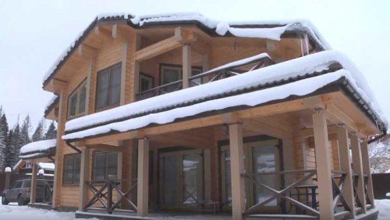 Строительство дома из клеенного бруса во Владивостоке