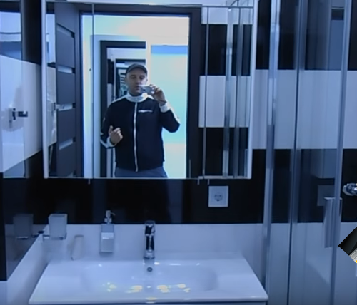 Современный дизайн ванной комнаты от нашей компании
