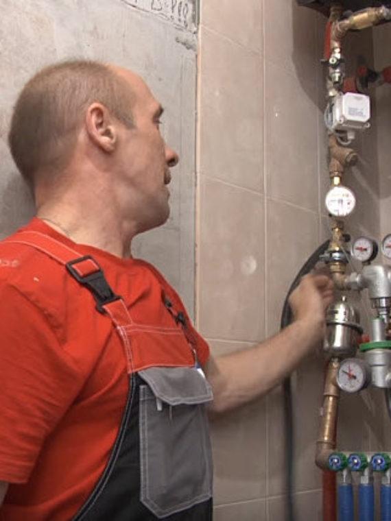 Слесарь-сантехник Сергей Николаевич