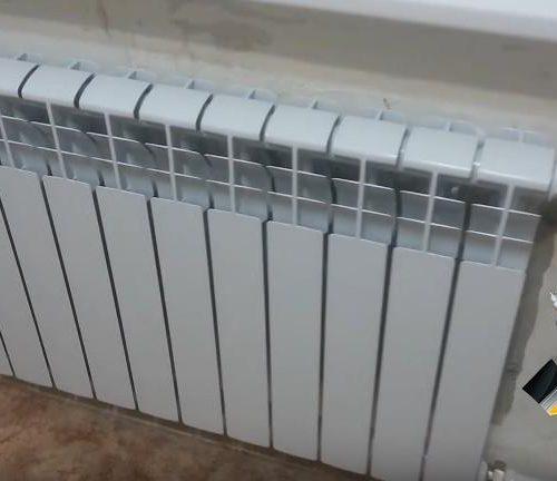 Замена радиатора в квартире города Владивосток