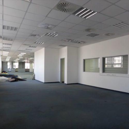 Ремонт большого офисного помещения в городе Владивосток