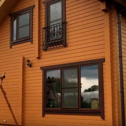 Постройка дома из бруса во Владивостоке