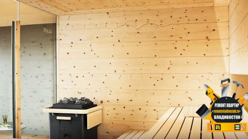 Строительство сауны в квартирах и домах Владивостока