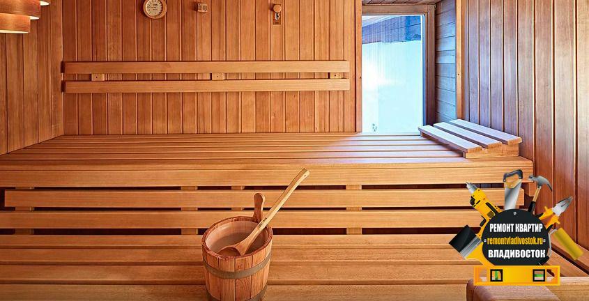 Строительство сауны в квартирах и домах Владивостока, доступно и недорого