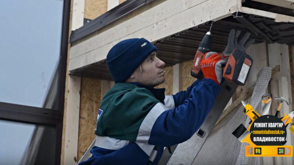 Отделка дома сайдингом от строительной компании «Ремонт квартир Владивосток»