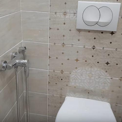 Качественный ремонт туалета по ул. Луговая во Владивостоке