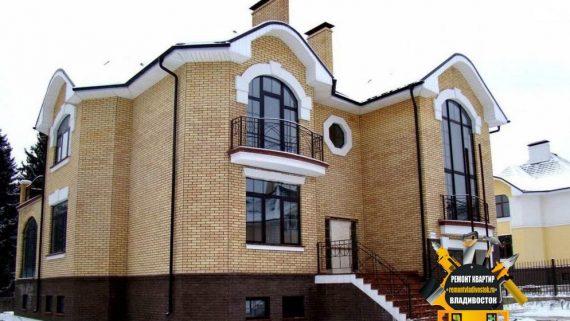 Строительство домов из кирпича во Владивостоке доступно и недорого