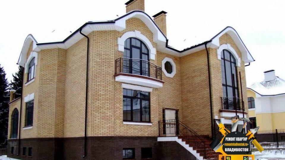 Строительство домов из кирпича компанией — «Ремонт квартир Владивосток»