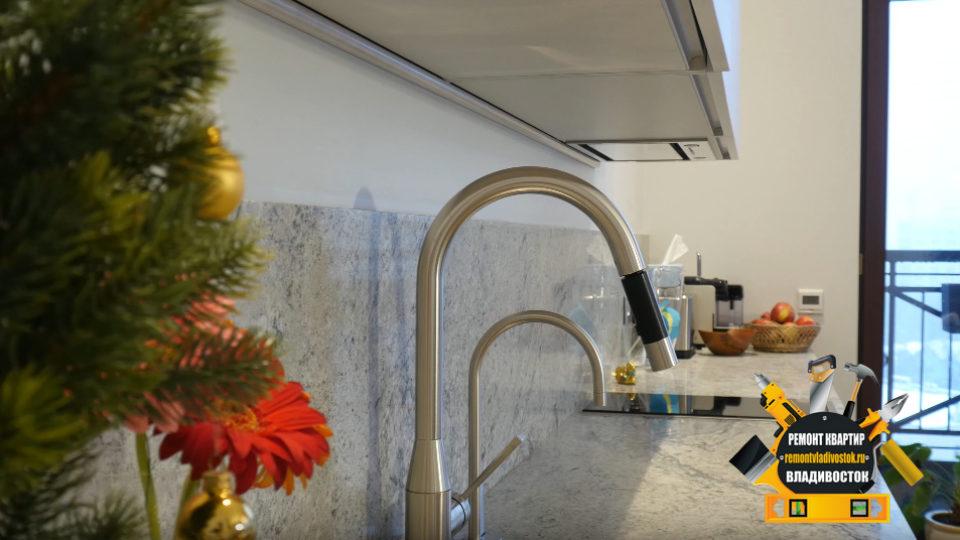 Ремонт гостиной комнаты от компании — «Ремонт квартир Владивосток»