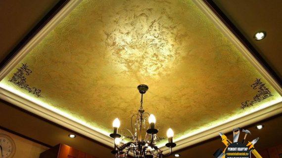 """Ремонт потолка от компании - """"Ремонт квартир Владивосток"""" недорого"""