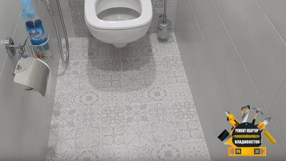 Ремонт туалета в санузле во Владивостоке