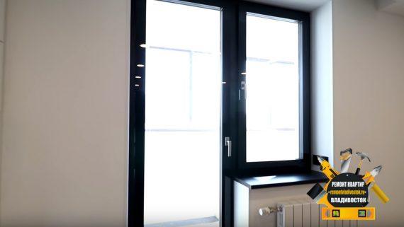 Ремонт квартиры студия в новостройке Владивостоке