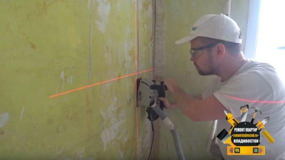 Укладка электропроводки в квартире во Владивостоке