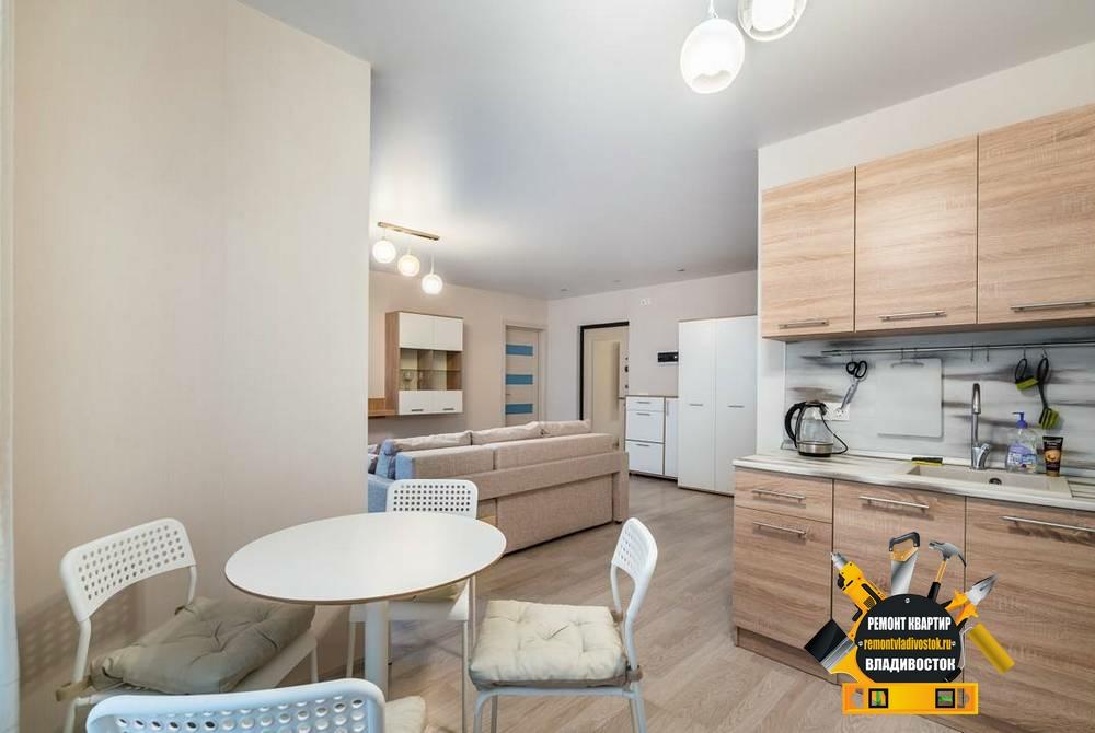 Ремонт квартиры в новом доме во Владивостоке