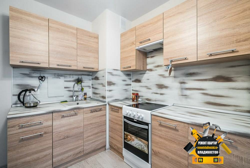 Отделка квартиры студия под ключ во Владивостоке недорого!