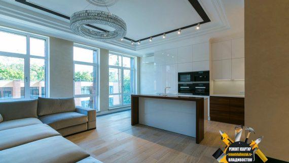 Элитный ремонт квартир под ключ во Владивостоке от профессионалов!