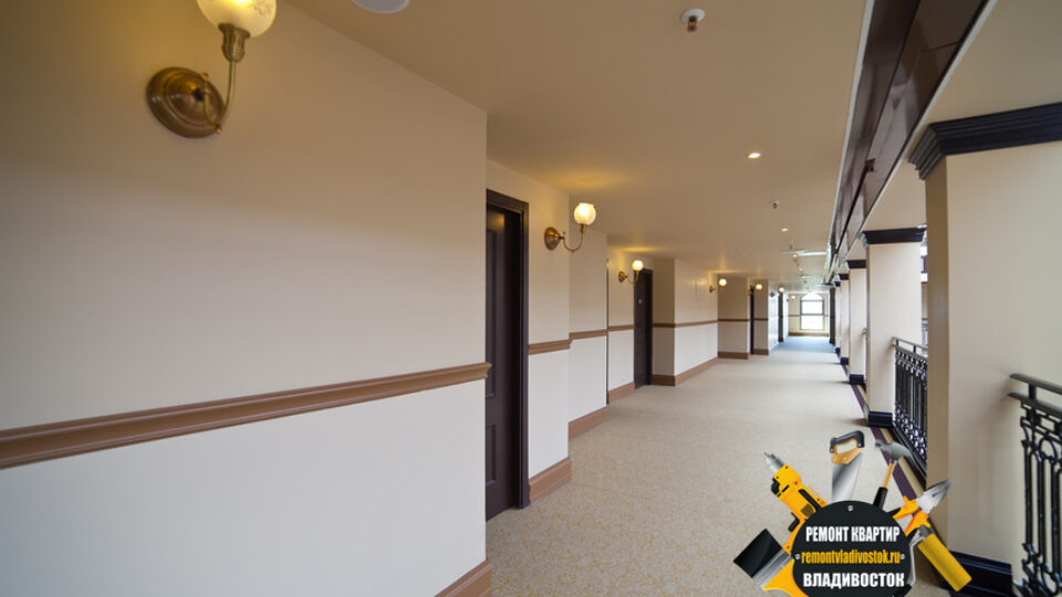 Ремонт гостиниц от компании — «Ремонт квартир Владивосток»