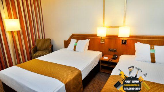 Ремонт номеров в отелях и гостиницах Владивостока