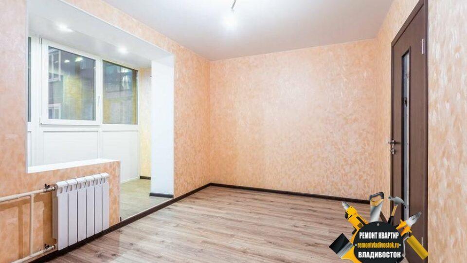 Оклейка стен обоями от компании — «Ремонт квартир Владивосток»