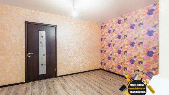 Оклейка стен обоями по доступной цене за кв.м во Владивостоке