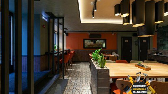 Ремонт ресторана в городе Владивостоке, качественно и недорого!