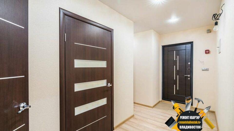 Ремонт однокомнатной квартиры под ключ во Владивостоке