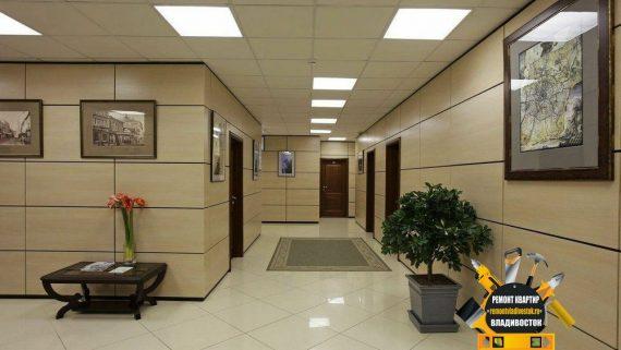 Отделка офисов во Владивостоке по доступным ценам!