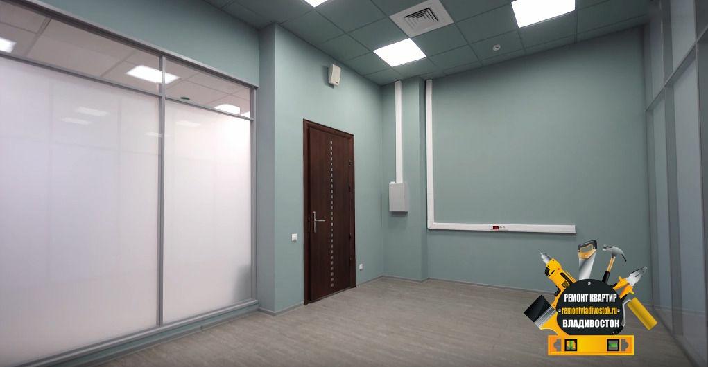 Отделка офиса в центре города Владивостока