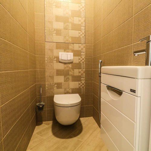 Отделка туалета в новостройке Кирова 104