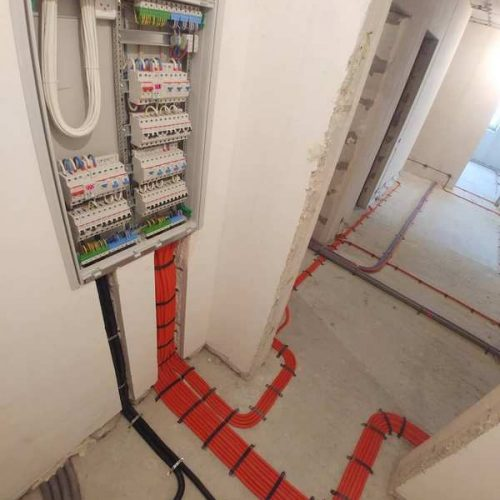 Монтаж электропроводки в квартире по ул. Толстого 38