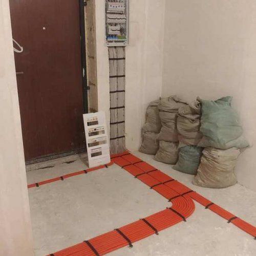 Прокладка кабеля в коридоре