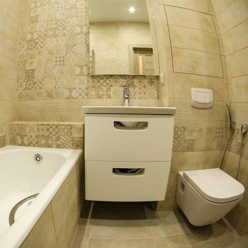 Ремонт ванной комнаты в новом доме