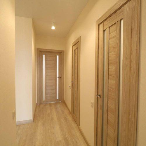 Отделка коридоров и комнат