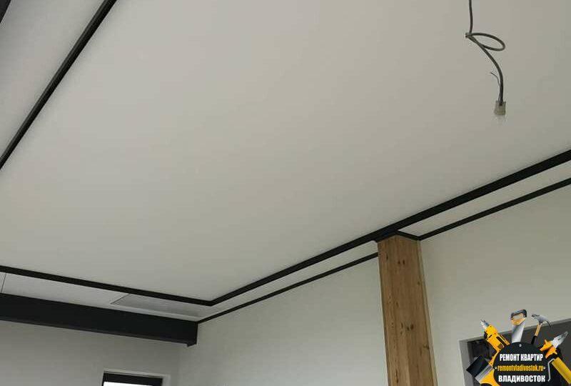 Подвесные потолки на кухне