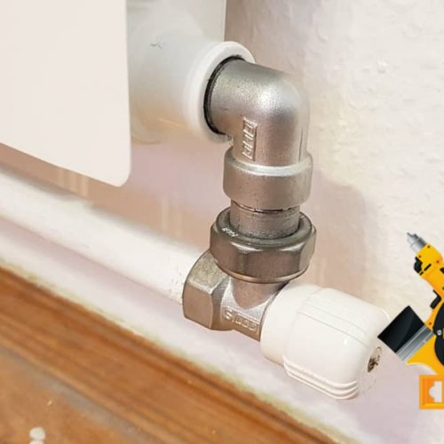 Монтаж радиатора отопления в комнате