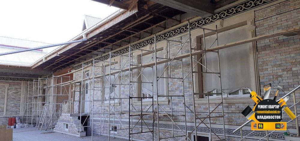 Экономный ремонт коттеджей во Владивостоке