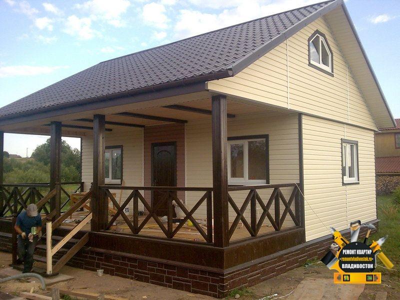 Строим каркасный дом для дачи во Владивостоке