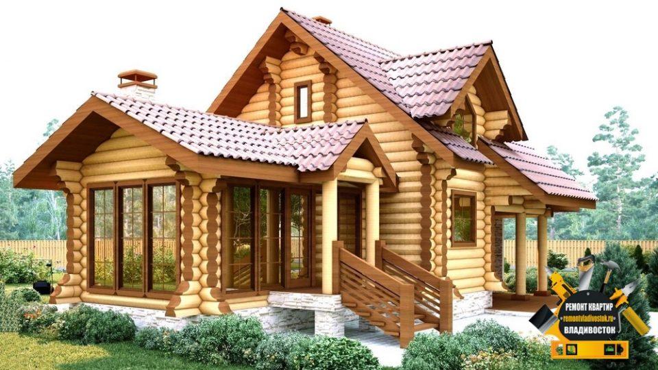 Деревянные дома строительство во Владивостоке