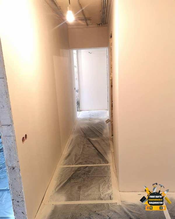 Начало работ ремонта квартиры в новостройке под сдачу в аренду