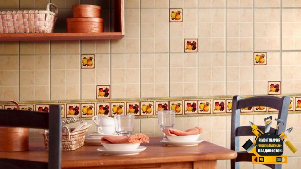 Кафельная плитка для интерьера ванных и кухни во Владивостоке