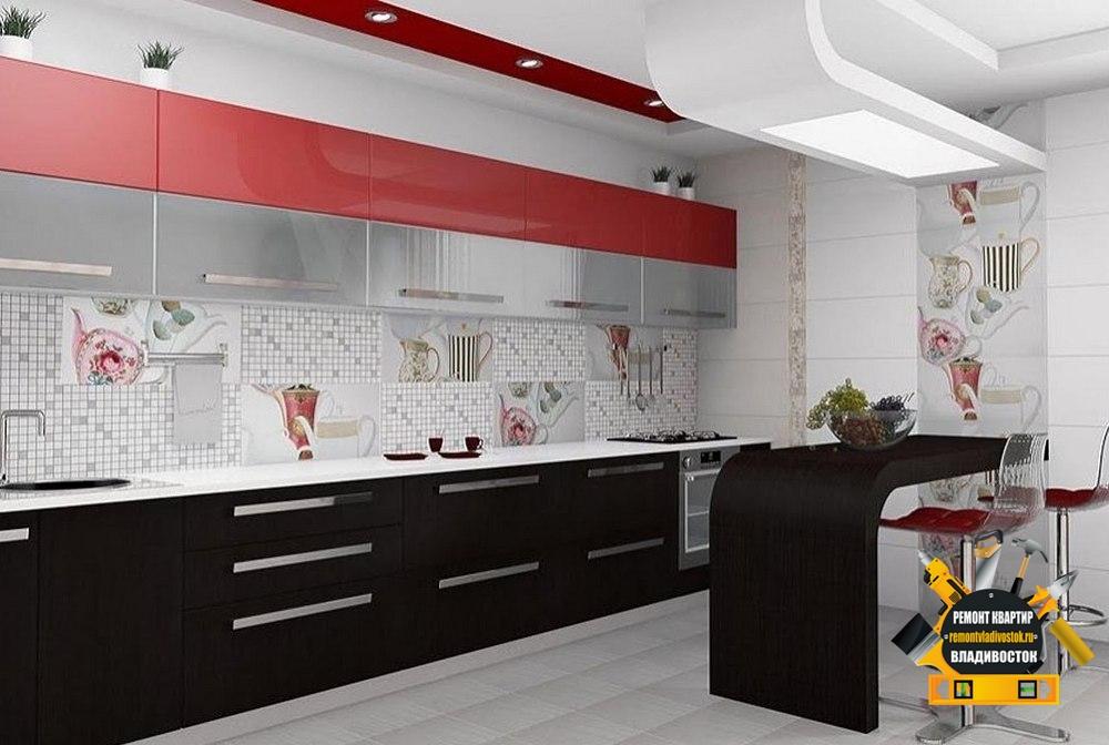Красивая современная плитка для кухни
