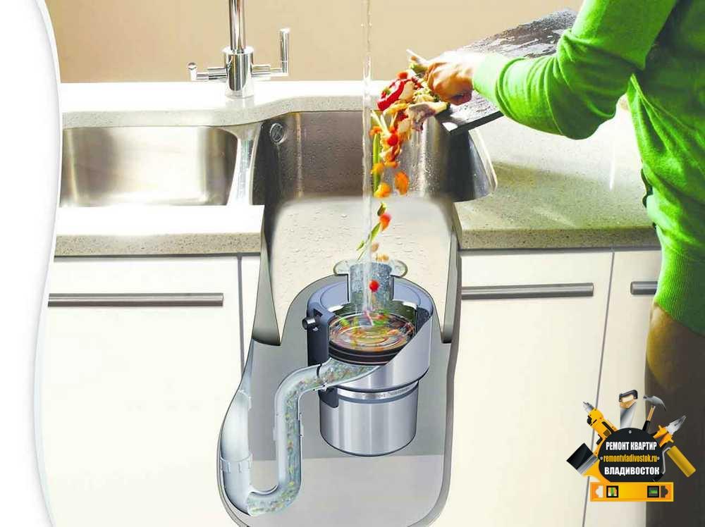 Как выбрать и купить измельчитель пищевых отходов?