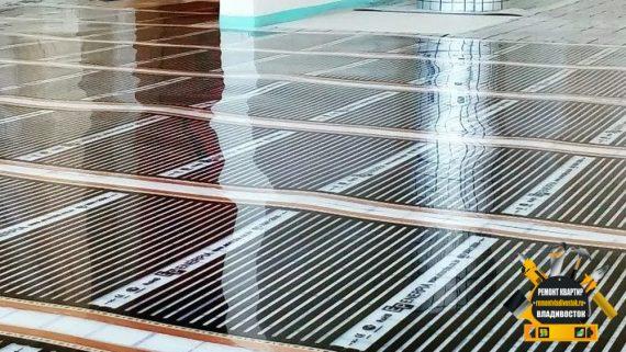 Особенности укладки электрического теплого пола во Владивсотоке